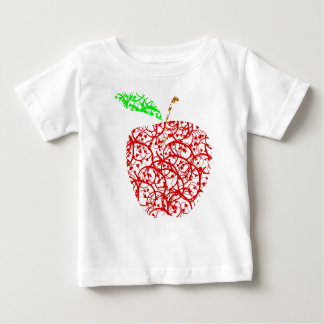 Camiseta Para Bebê apple2
