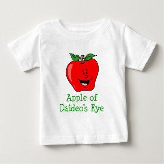 Camiseta Para Bebê Apple do olho de Daideo