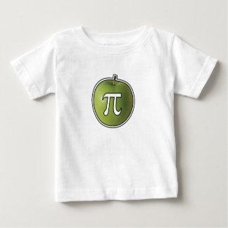 Camiseta Para Bebê Apple Pi