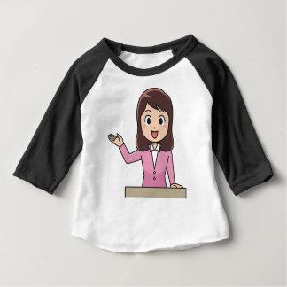 Camiseta Para Bebê Apresentador