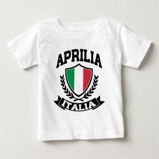 Camiseta Para Bebê Aprilia Italia