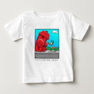 Camiseta Para Bebê Aquele é esse, pai!
