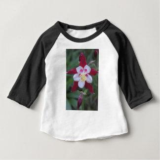 Camiseta Para Bebê Aquilégia