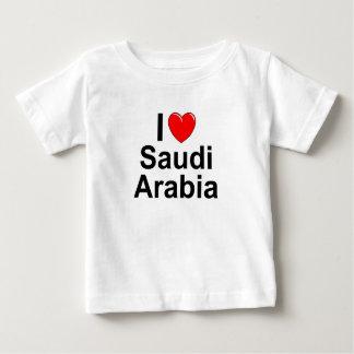 Camiseta Para Bebê Arábia Saudita
