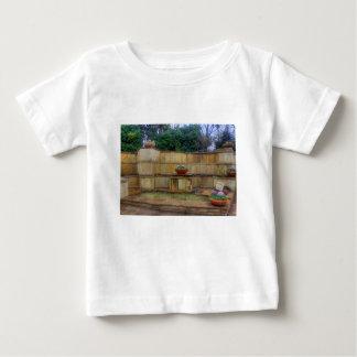 Camiseta Para Bebê Arboreto de Dallas e entrada dos jardins botânicos