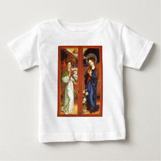 Camiseta Para Bebê Arcanjo Gabriel - aviso - Schongauer