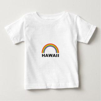 Camiseta Para Bebê arco da cor de Havaí