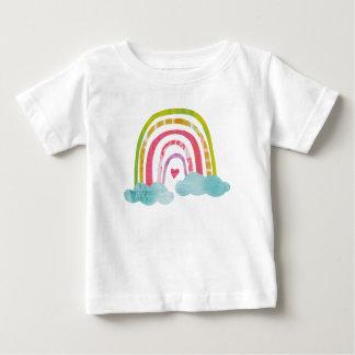 Camiseta Para Bebê Arco-íris mágico