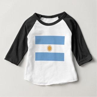 Camiseta Para Bebê Argentina