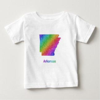 Camiseta Para Bebê Arkansas