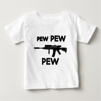 Camiseta Para Bebê Arma do banco do banco