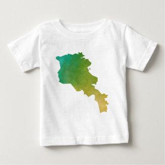 Camiseta Para Bebê Arménia
