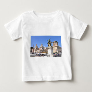 Camiseta Para Bebê Arquitetura italiana em Roma, Italia
