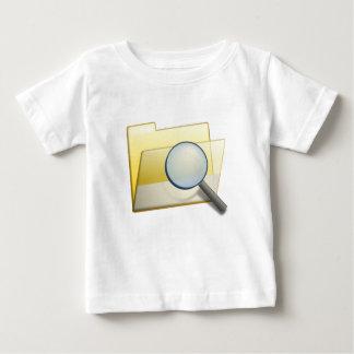 Camiseta Para Bebê Arquivos escondidos