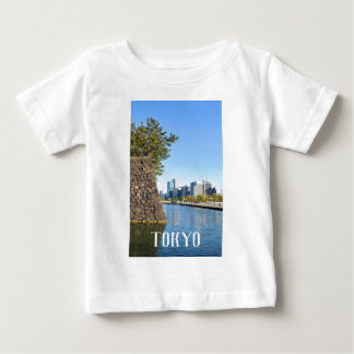 Camiseta Para Bebê Arranha-céus em Tokyo, Japão