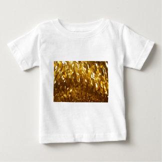 Camiseta Para Bebê Arte abstracta do teto do ouro