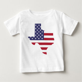 Camiseta Para Bebê Arte abstrata Texas de América