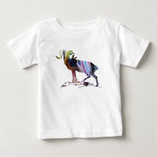 Camiseta Para Bebê Arte da cabra