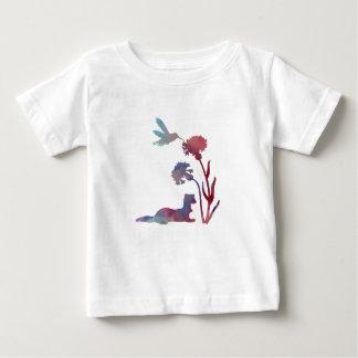 Camiseta Para Bebê Arte da doninha