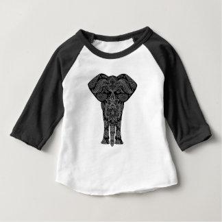 Camiseta Para Bebê Arte da mandala