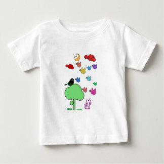 Camiseta Para Bebê Arte da noite