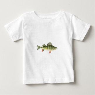 Camiseta Para Bebê Arte da vara amarela