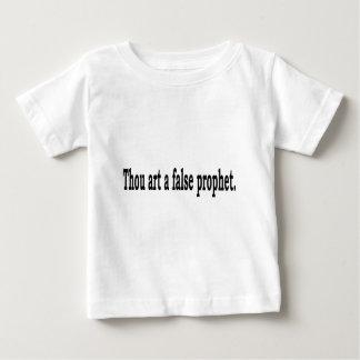 Camiseta Para Bebê Arte de mil um profeta falso