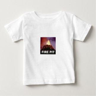 Camiseta Para Bebê arte do poço do fogo