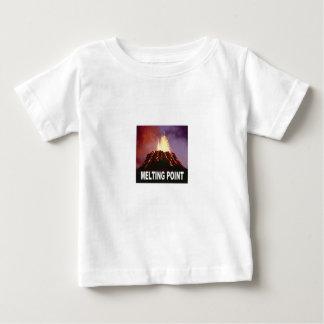 Camiseta Para Bebê Arte do ponto de derretimento