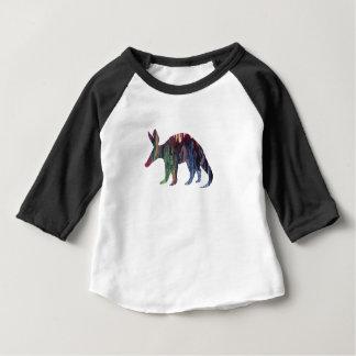 Camiseta Para Bebê Arte do porco-da-terra