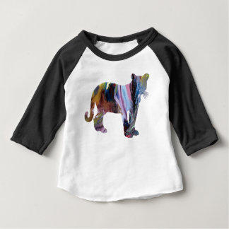 Camiseta Para Bebê Arte do puma/puma