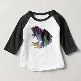 Camiseta Para Bebê Arte do sapo