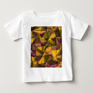 Camiseta Para Bebê arte do teste padrão