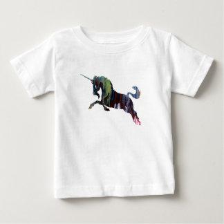 Camiseta Para Bebê Arte do unicórnio