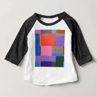 Camiseta Para Bebê Arte moderna/Mondrian