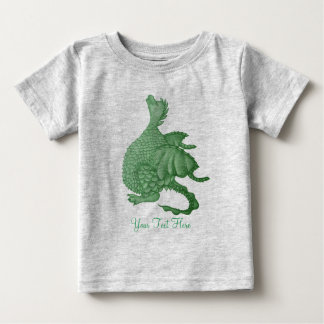 Camiseta Para Bebê arte mythical da criatura da fantasia do