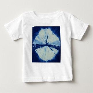 Camiseta Para Bebê Arte redonda do círculo do índigo de DSC03486.JPG