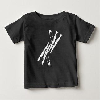 Camiseta Para Bebê Artigos do agregado familiar idos loucos