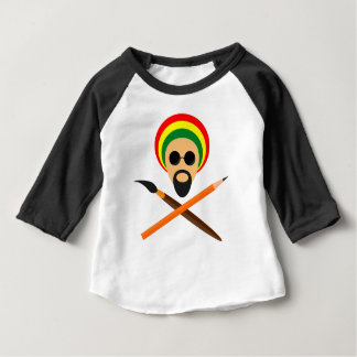 Camiseta Para Bebê Artista