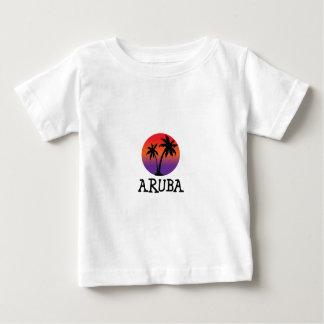 Camiseta Para Bebê Aruba