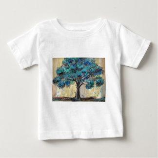 Camiseta Para Bebê Árvore da cerceta