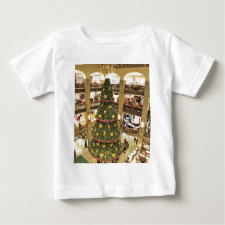 Camiseta Para Bebê Árvore de Natal