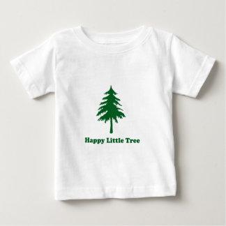Camiseta Para Bebê Árvore pequena feliz