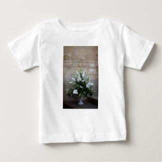 Camiseta Para Bebê As flores
