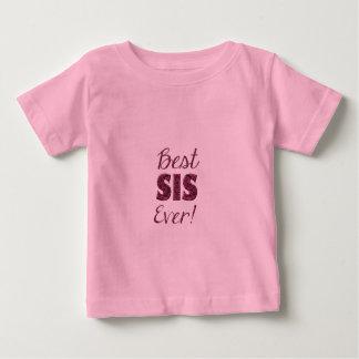 Camiseta Para Bebê As melhores flores sempre florais do rosa da