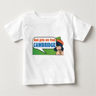 Camiseta Para Bebê As melhores meninas são de Cambridge