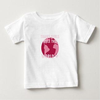 Camiseta Para Bebê As meninas do transporte ordenam o mundo (v2)