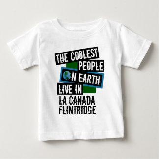 Camiseta Para Bebê As pessoas as mais frescas na terra no La Canada