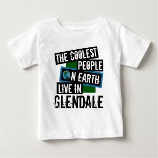 Camiseta Para Bebê As pessoas as mais frescas na terra vivem em