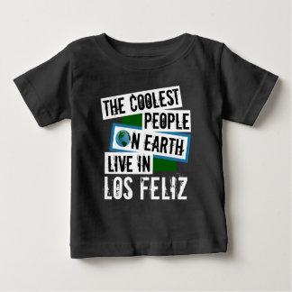 Camiseta Para Bebê As pessoas as mais frescas na terra vivem em Los